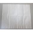 Low fold dispenser napkin