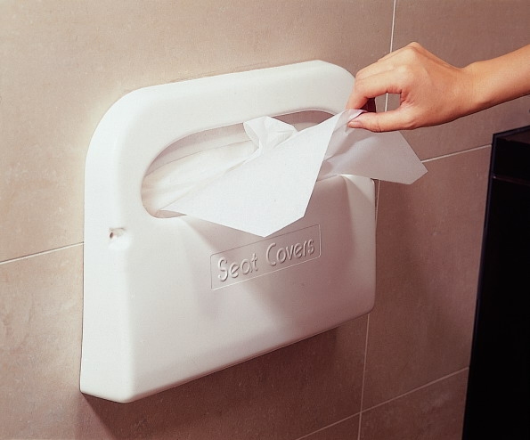 1/2 Fold Toilet Seat Cover