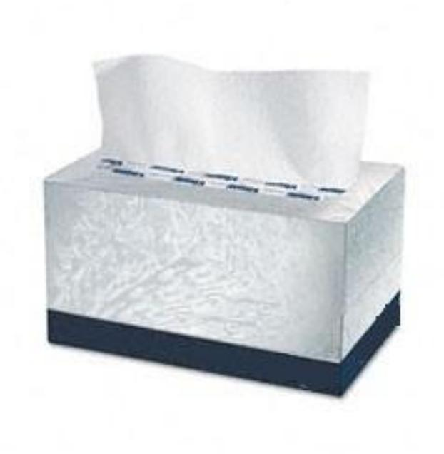 Box hand towel