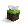Cube box facial tissue